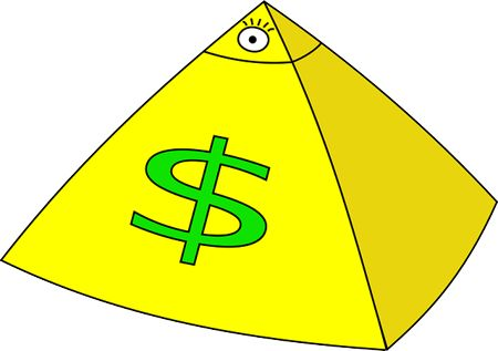 Как в интернете создать финансовую пирамиду