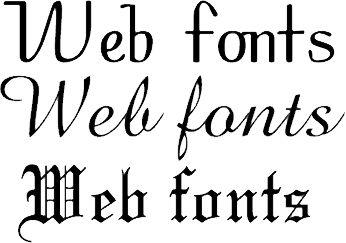 Как в интернете изменить шрифт